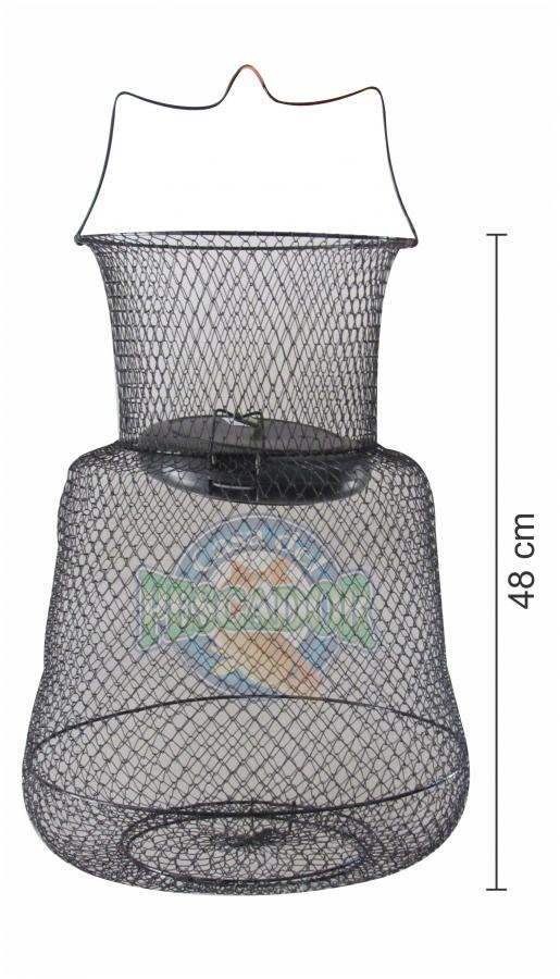 Vivero jaula para peces con boya casa del pescador for Vivero para peces